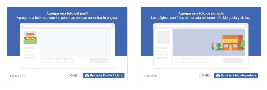 Pasos para crear una Fan Page para una tienda online